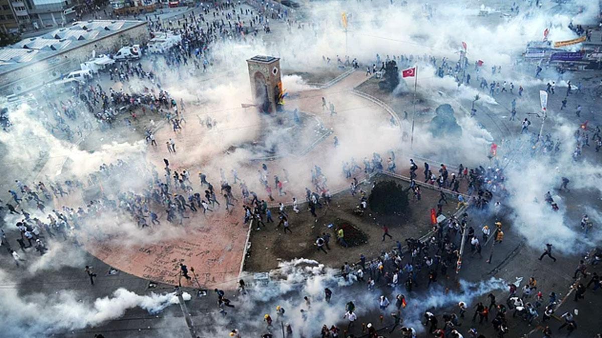 Gezi'nin 7'nci yılında İstiklâl'de eylem