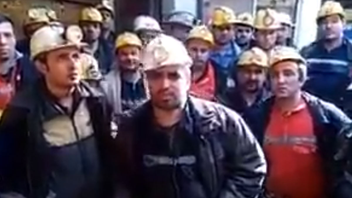 Aylardır maaşlarını alamayan madenciler, sendikalı olunca işten çıkartıldı: Kendilerini ocağa kapattılar!