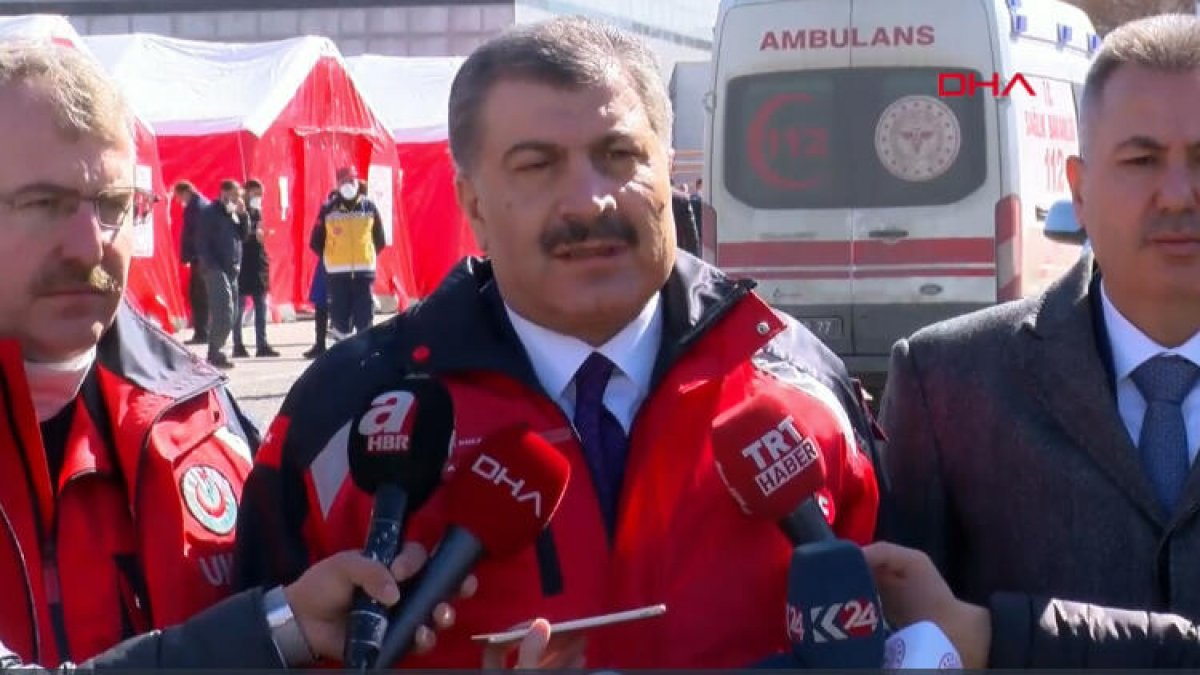 Bakan Koca, İran sınırındaki corona virüs önlemlerini açıkladı