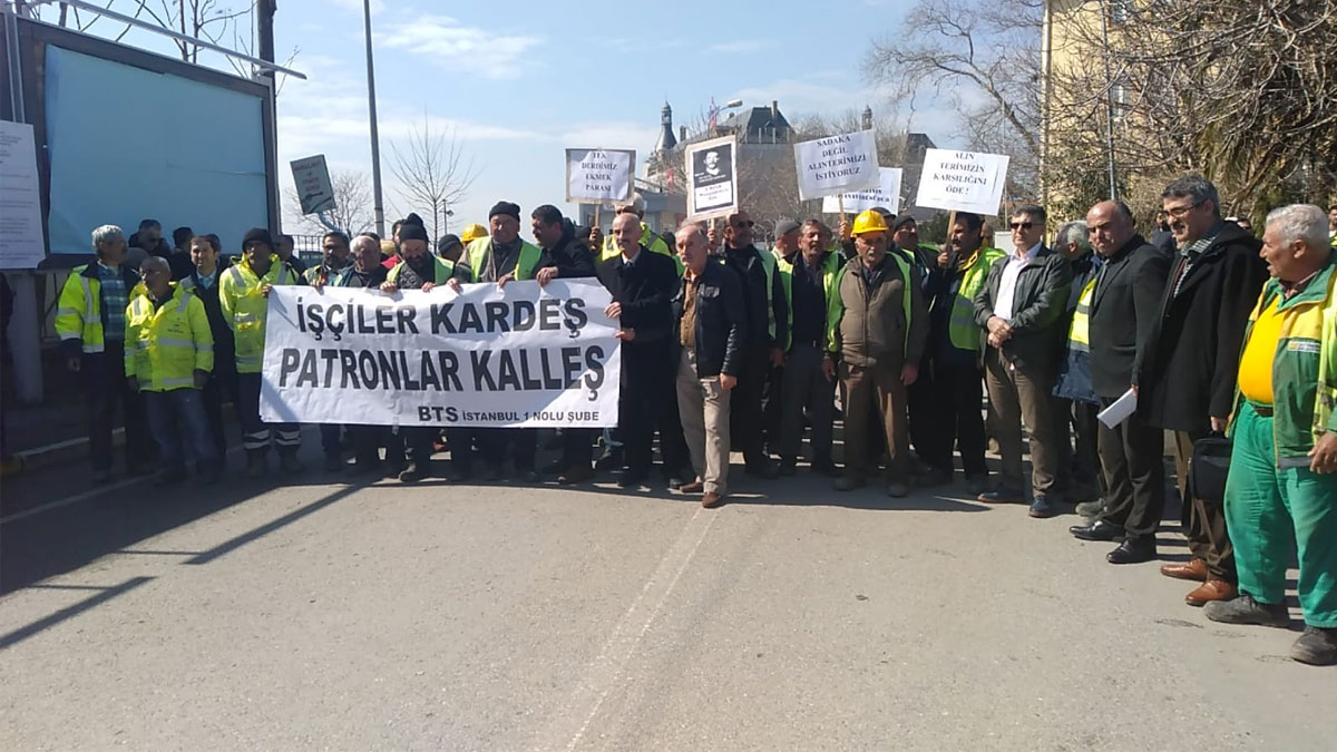 Haydarpaşa tarihi kazı alanı işçileri iş bıraktı