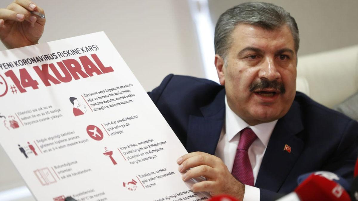 Türkiye'de coronavirüs vaka sayısı 18'e çıktı