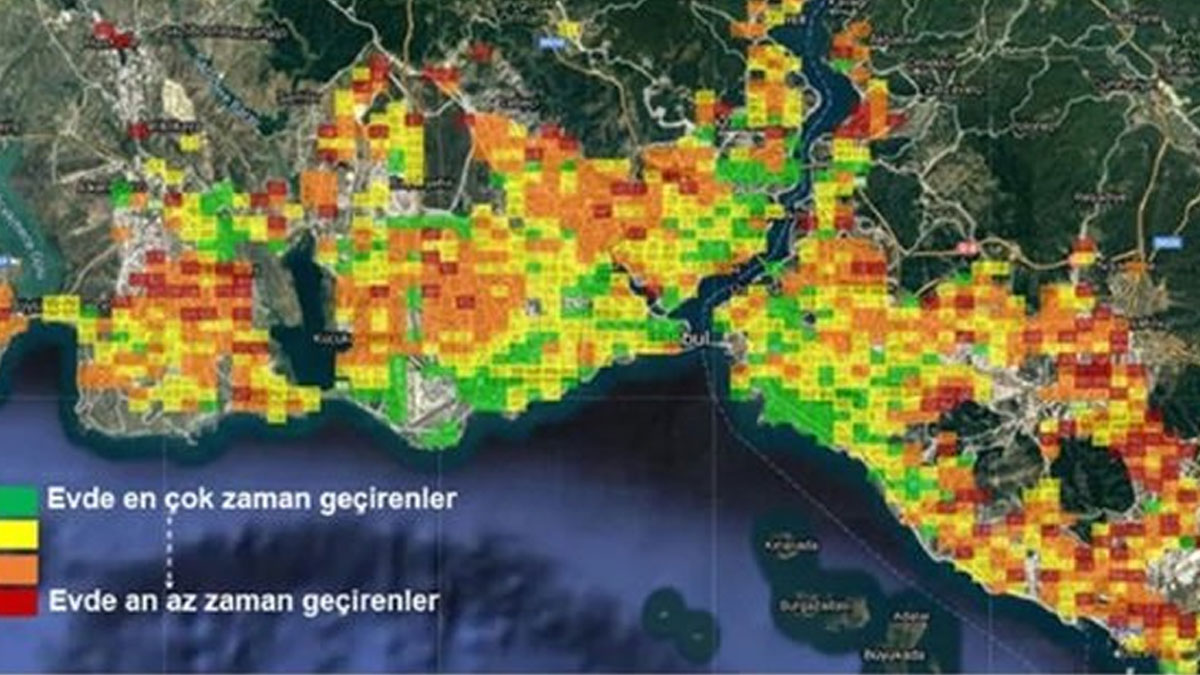 Teknoloji şirketi verileri inceledi: Emekçi semtlerde yaşayanlar evde kalamıyor!