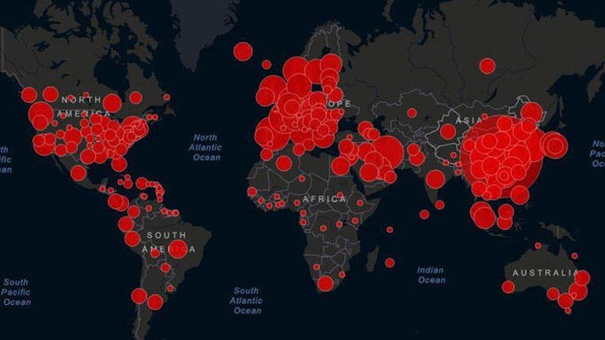 Dünya genelinde coronavirüs vaka sayısı 500 bini aştı