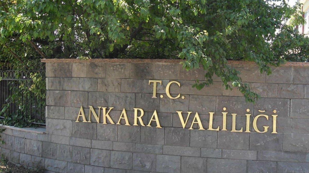 Ankara Valiliği, Coronavirüse ilişkin il hazırlık ve faaliyet planını açıkladı