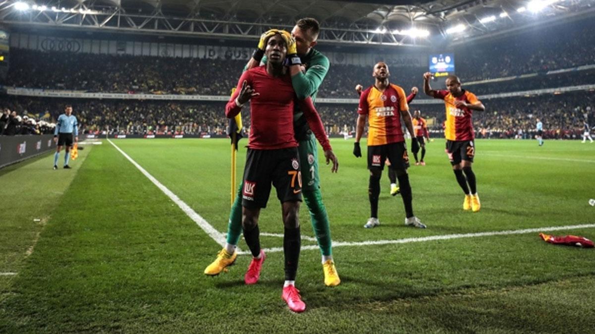 Galatasaray'ın Kadıköy galibiyeti topun ucunda