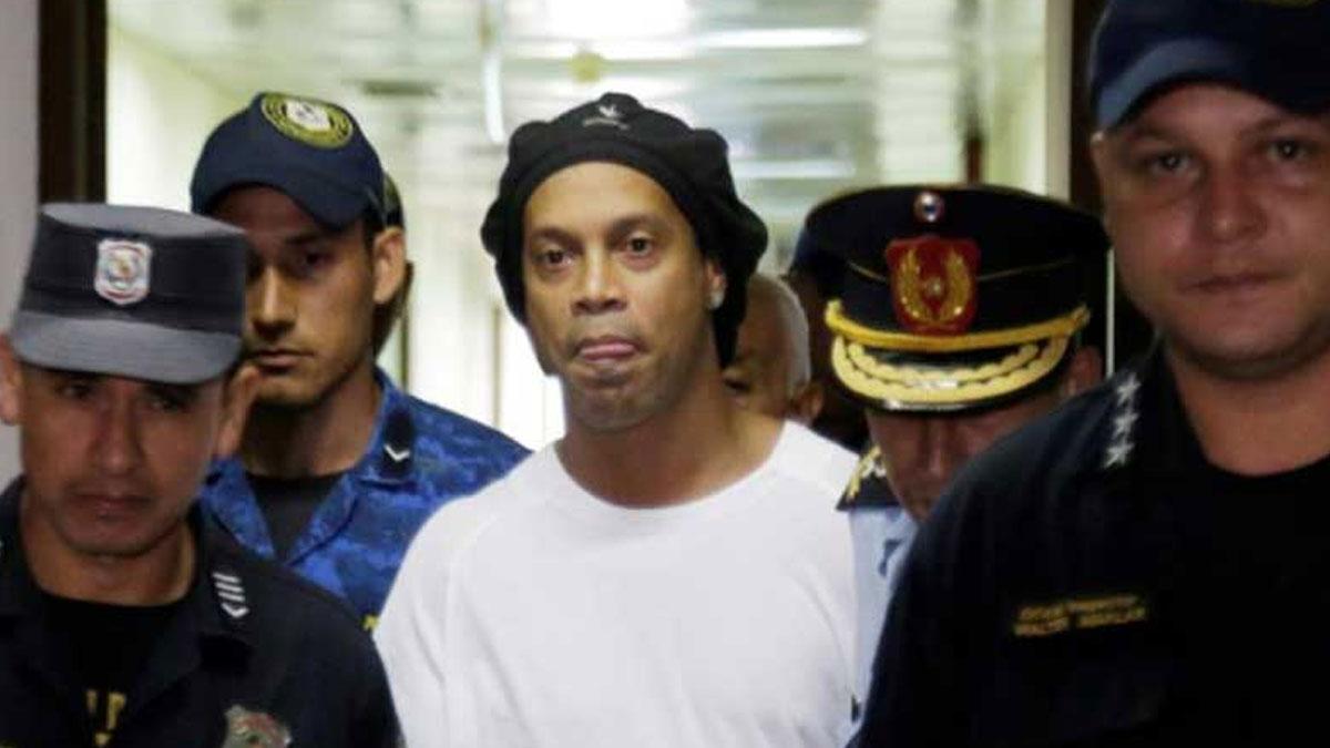 Ronaldinho, hapis cezasının kalanını ev hapsinde geçirecek