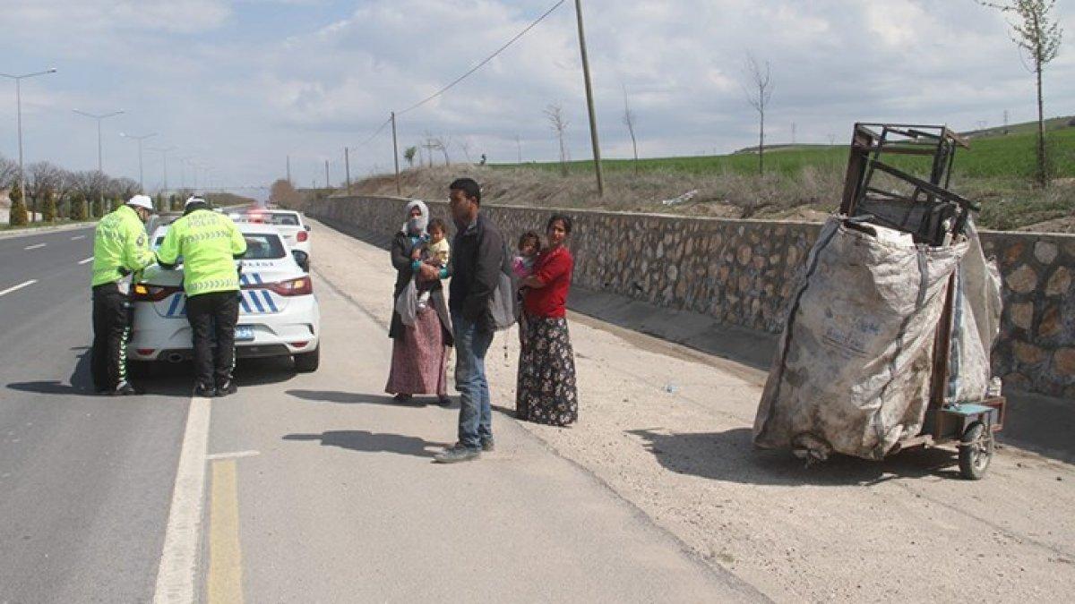 Çöpten hurda toplayan yurttaşa verilen ceza iptal edildi