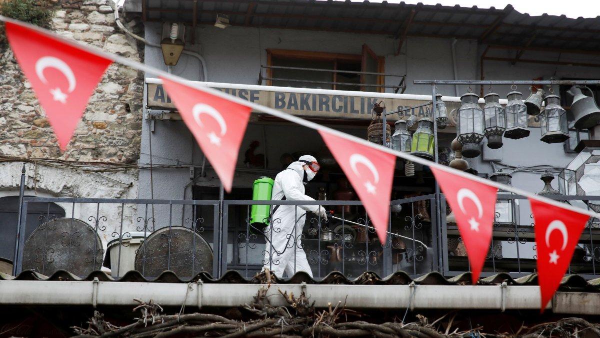 Türkiye'de Covid-19 kaynaklı can kaybı 3 bin 739'a yükseldi