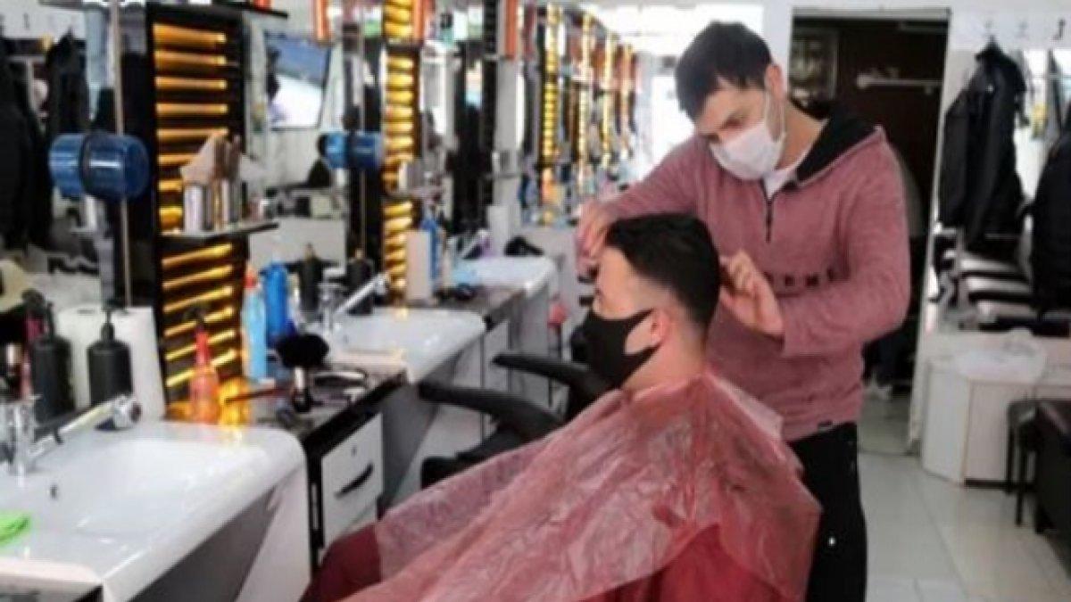 Faaliyete başlayan kuaför ve berber ücretlerine yüzde 40 zam