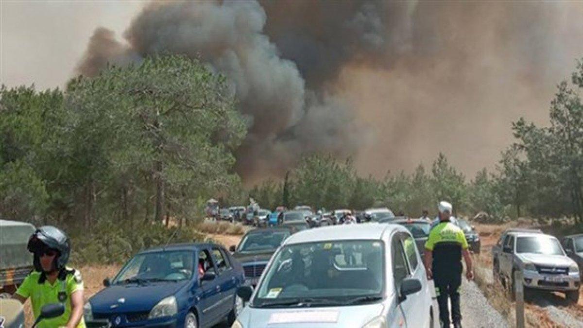 KKTC'de yangın: ODTÜ arazisine sıçradı