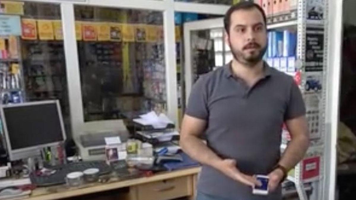Beş dükkanı soyan hırsız, altıncı dükkanda uyuyakalarak yakalandı