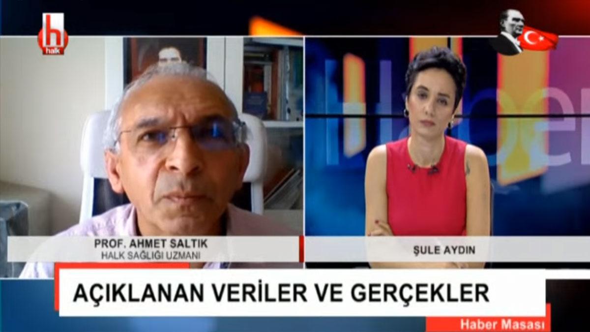 Prof. Dr. Saltık: AVM'ler açıldıktan sonra olgu sayıları yeniden yükseldi