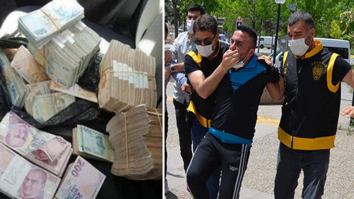Cezaevi firarisi çaldığı 1 milyon lirayı sosyal medyadan paylaştı: Saklandığı çatıda yakalandı