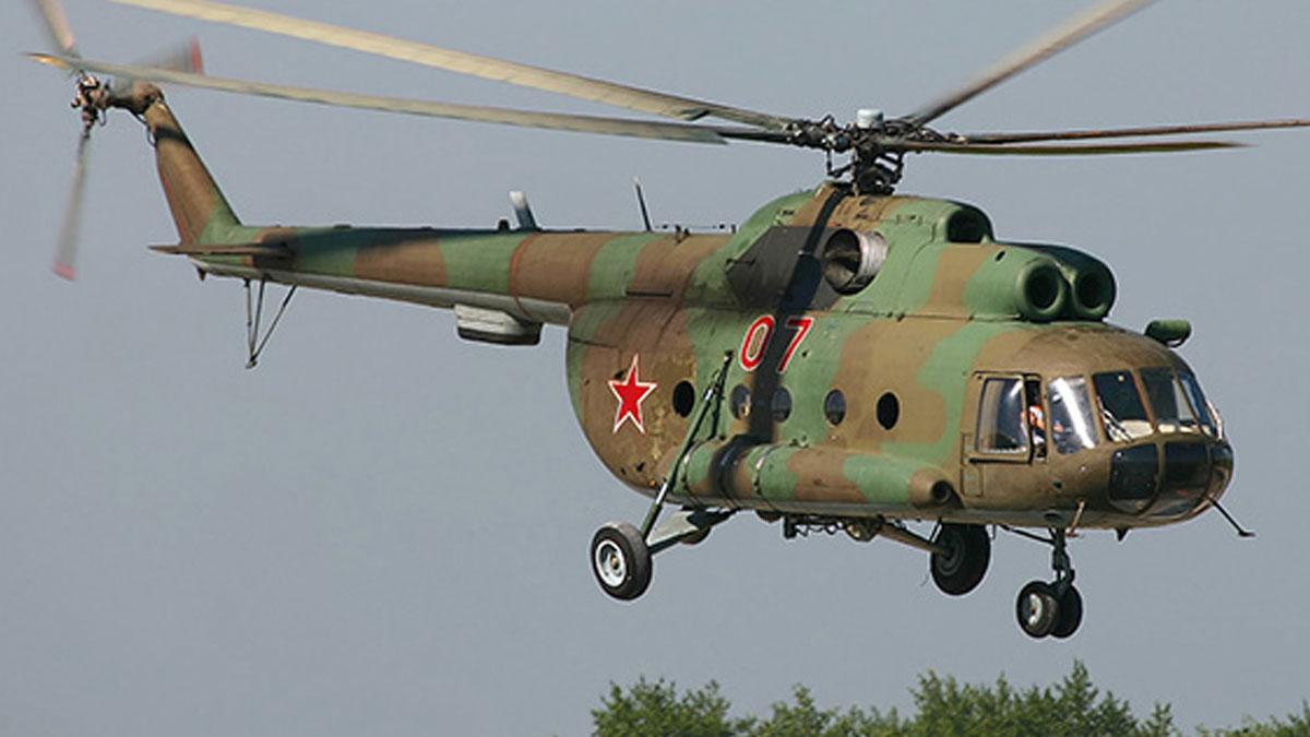 Rusya'da savaş helikopteri düştü: Mürettebat yaşamını yitirdi