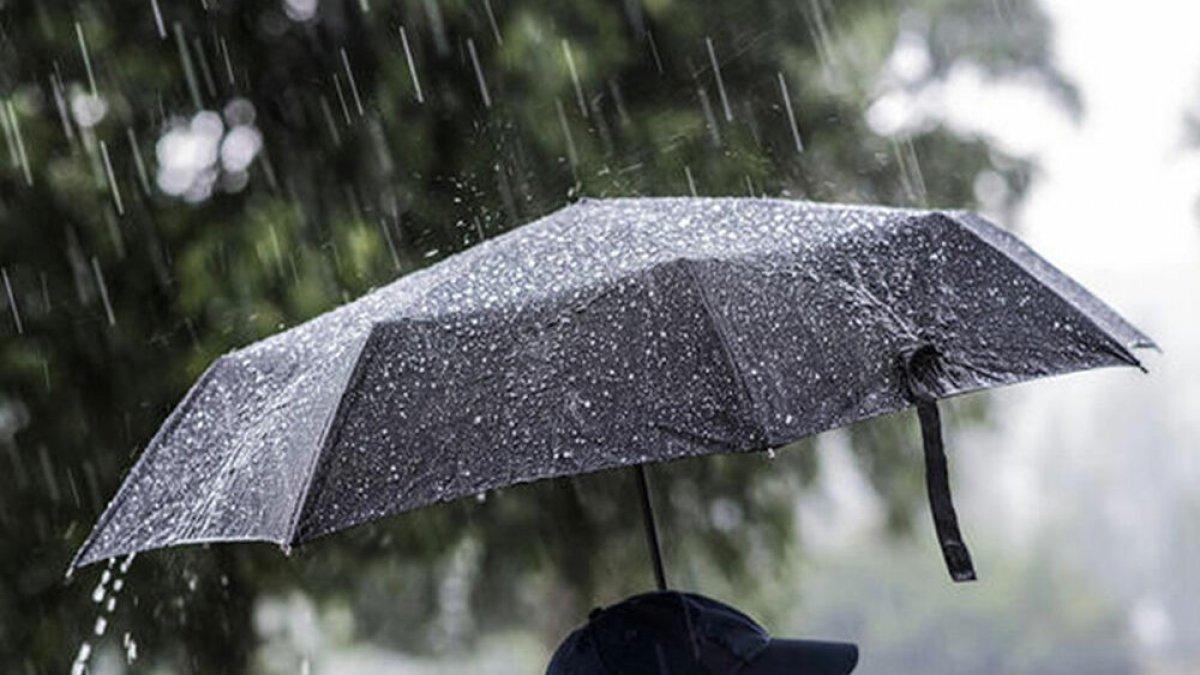 Balkanlardan serin hava ve sağanak yağış geliyor
