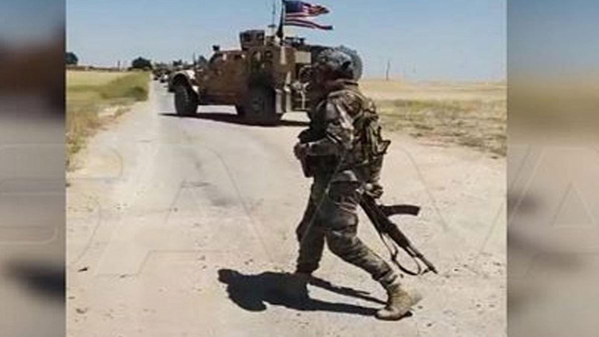 SANA: Suriye ordusu, Amerikan konvoyunun geçişini engelledi