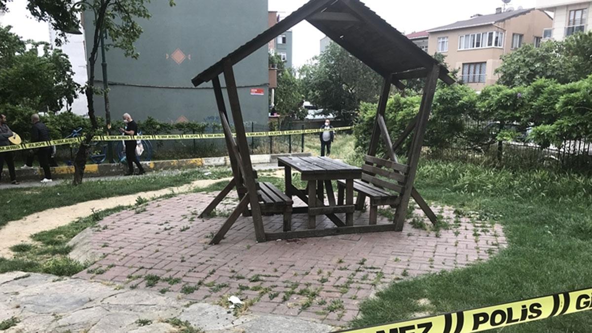 İstanbul'da bir kişi, parkta oğlunu öldürdü