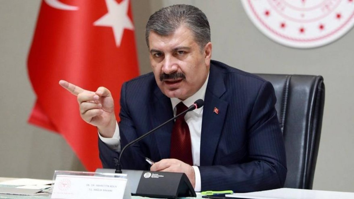 Sağlık Bakanı Fahrettin Koca gönderme yaptı