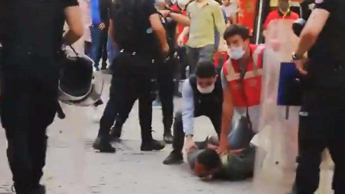 HDP yürüyüşünde polisin diziyle bastırdığı gösterici: Basma, göğsüm ağrıyor
