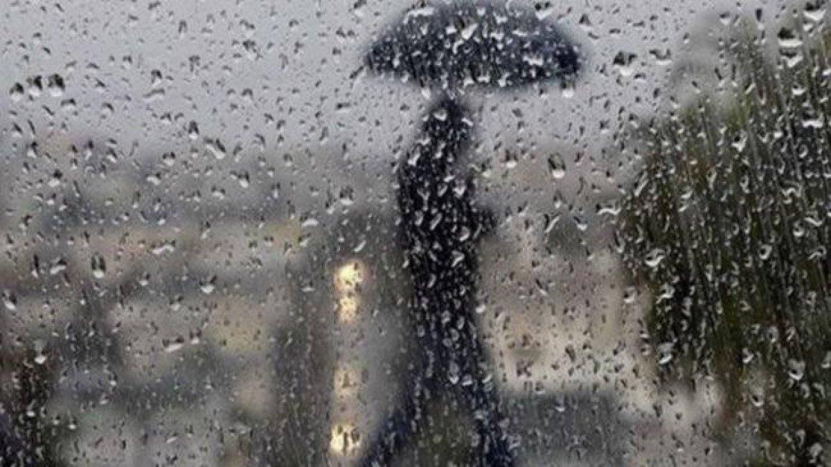 Meteoroloji'den 6 il için sağanak uyarısı