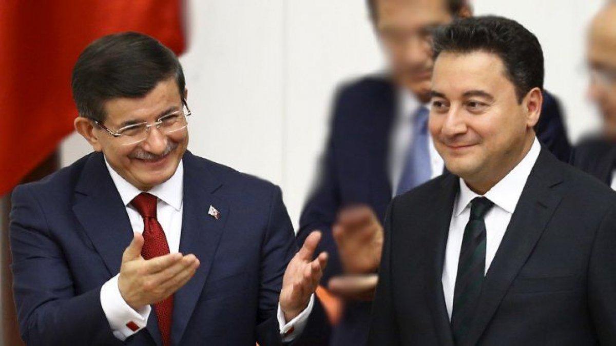 MHP'li Yalçın'dan Babacan ve Davutoğlu'nun partilerine ağır hakaretler!