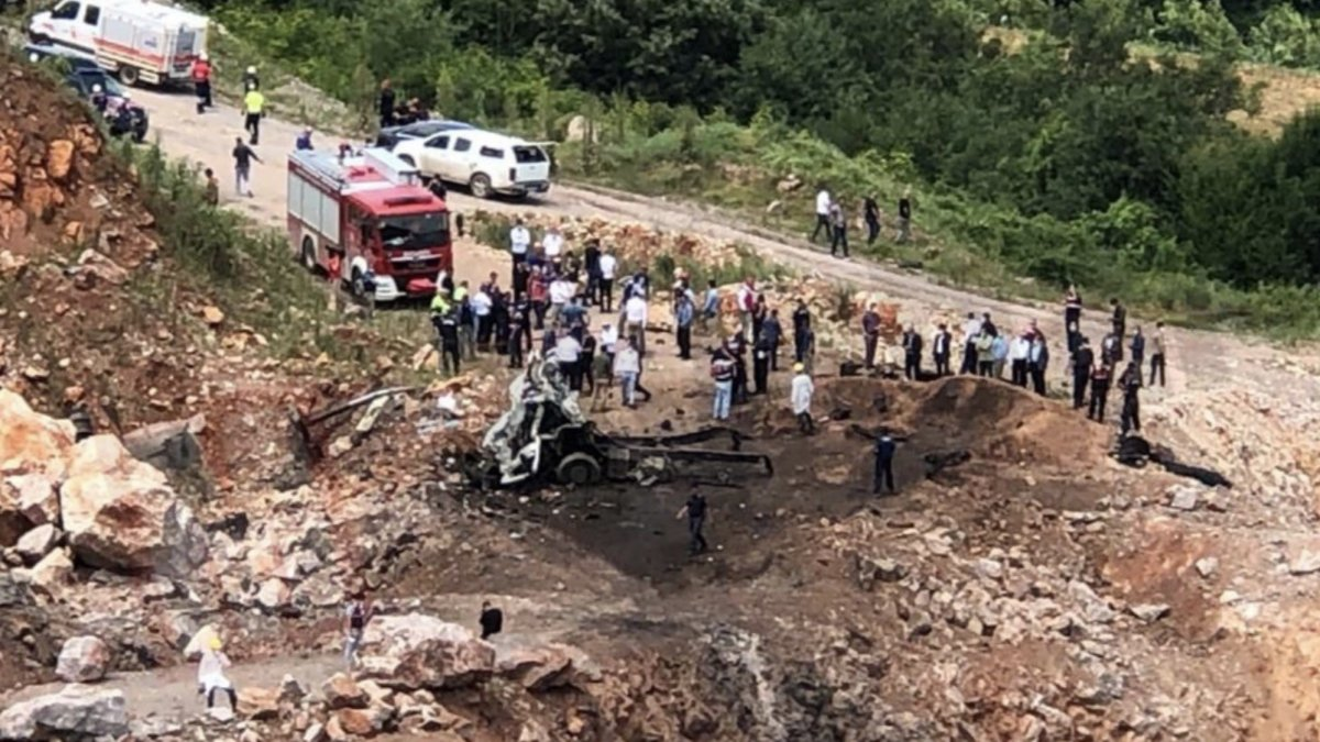 Sakarya'da ikinci patlama: 3 şehit, 12 yaralı