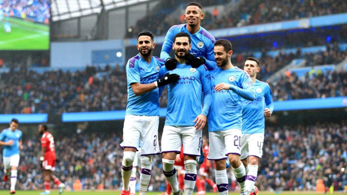 Manchester City'e verilen ceza kaldırıldı