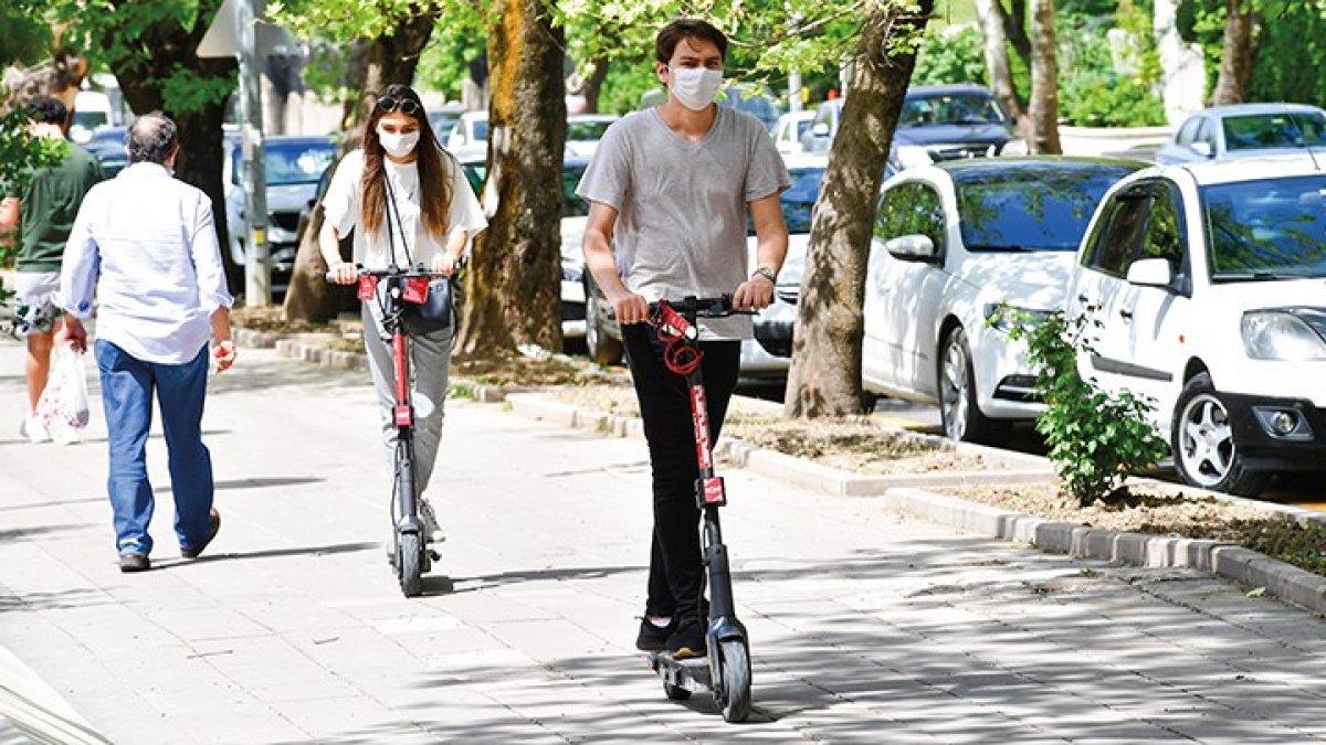 İBB'den elektrikli scooter düzenlemesi