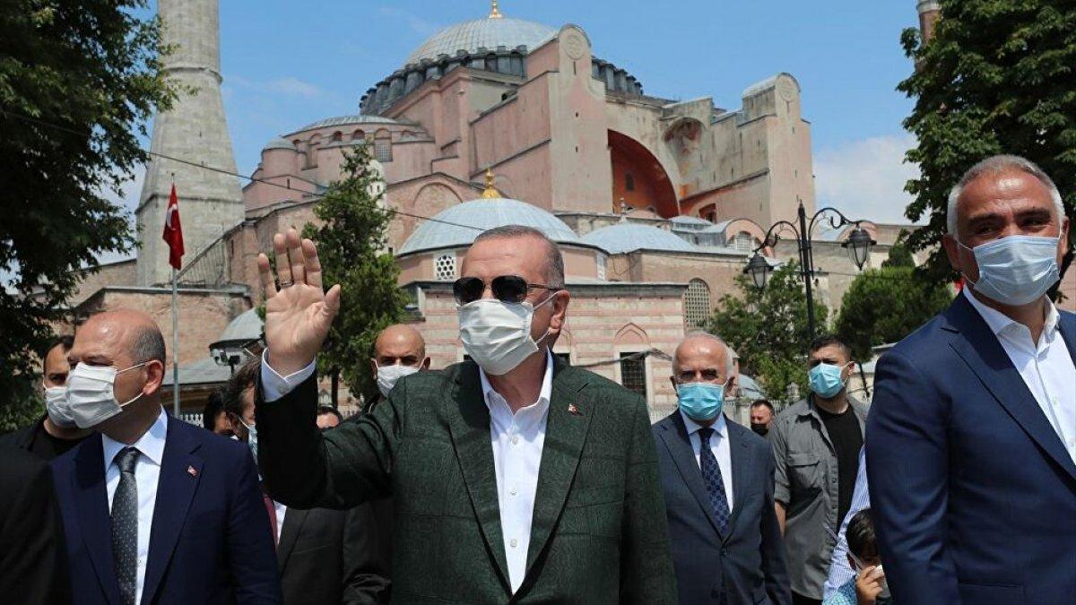 Son anket: Ayasofya Erdoğan'a yüzde 0,2 kazandırdı