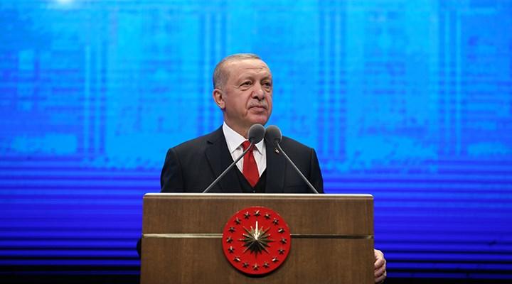 Erdoğan'ın prompteri bozuldu: Geri al geri