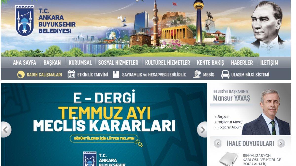 Ankara'da Belediye Meclis kararları artık online
