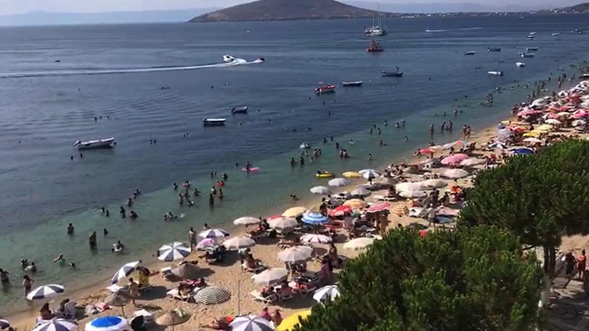 Tatilciler akın etti, nüfusu 11 katına çıktı