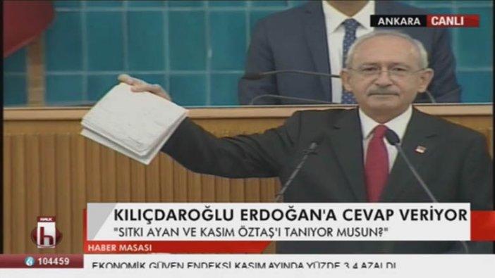 """Kılıçdaroğlu dekontları çıkarttı! Grup """"Tayyip istifa"""" sesleriyle inledi"""