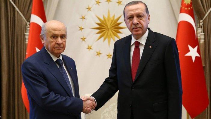 AKP-MHP ittifakı tamamlandı