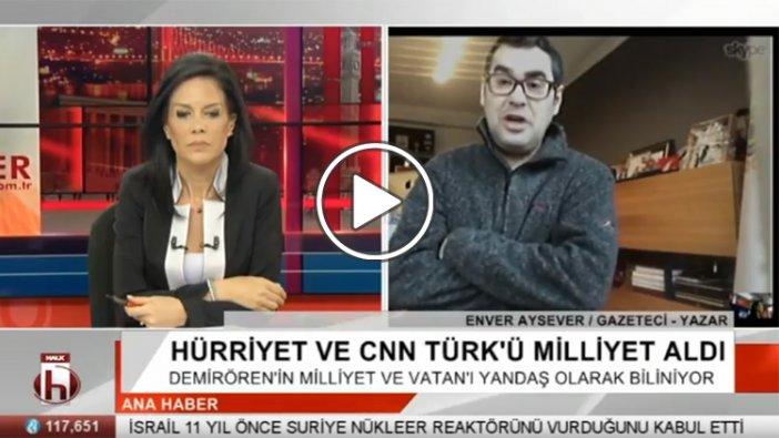 Enver Aysever Hürriyet ve CNN Türk'ün satışını değerlendirdi: Ertuğrul Özkök, Ahmet Hakan ve benzerleri...