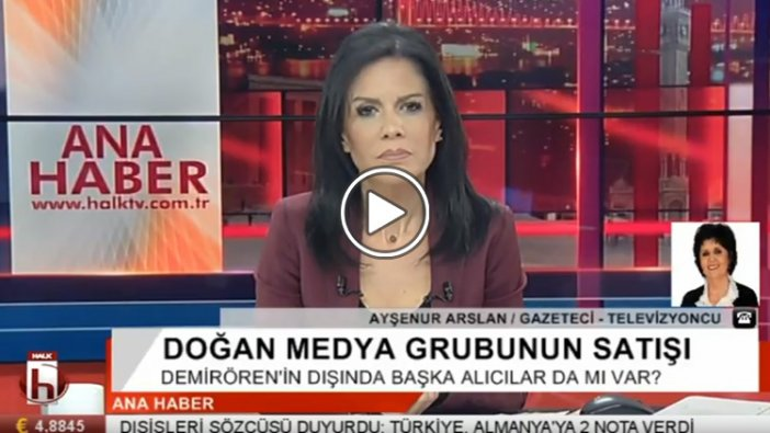 Ayşenur Arslan'dan Doğan Medya'nın satışı için önemli iddia: Aydın Doğan...
