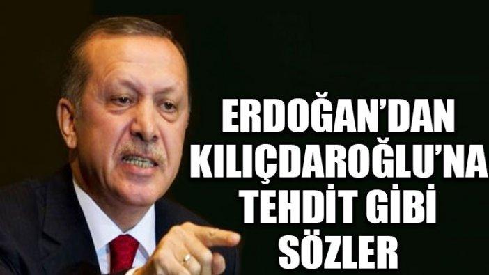 Erdoğan'dan Kılıçdaroğlu'na tehdit gibi sözler: Bu defa kaçmaya fırsat bile bulamazsın