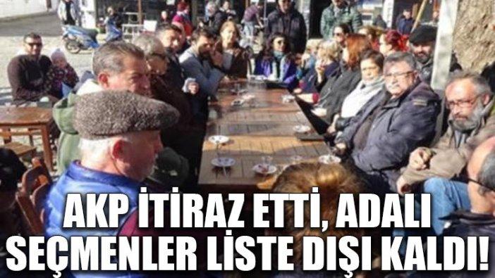 AKP itiraz etti, Adalı seçmenler liste dışı kaldı!
