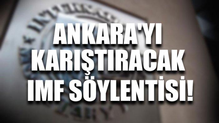 Ankara'yı karıştıracak IMF söylentisi!