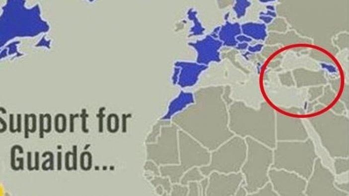 ABD'den skandal haritaya skandal savunma!