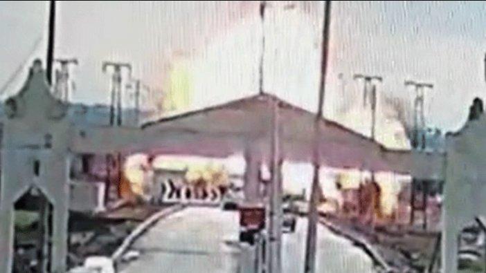 İşte Kilis sınırındaki bombalı saldırı anının görüntüleri!