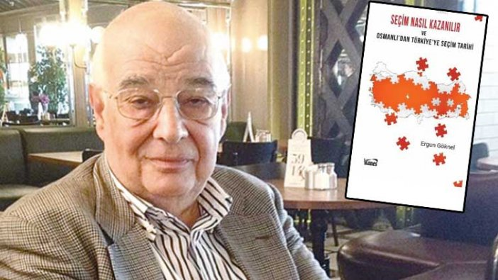 """İSKİ skandalının mimarı Ergun Göknel'den """"Seçim nasıl kazanılır?"""" kitabı"""