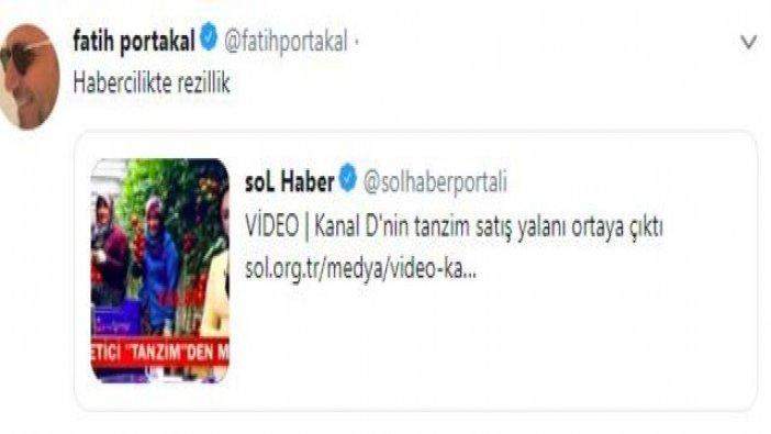 Buket Aydın ve Fatih Portakal arasında 'tanzim satış' polemiği
