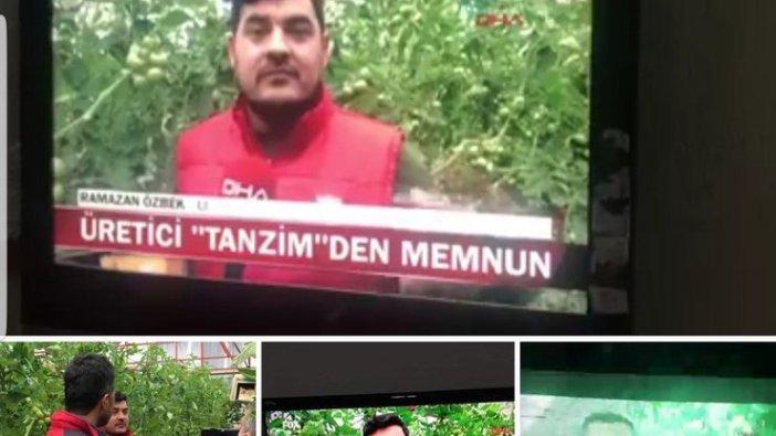 Kanal D Haber'in röportajını sansürlediği üretici isyan etti!