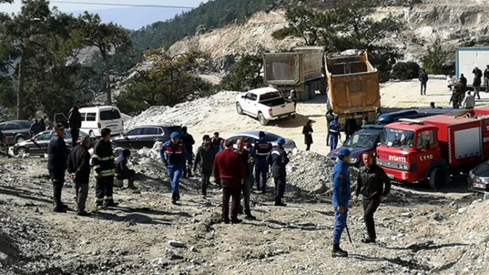 3 işçinin öldüğü Milas'taki maden ocağı faciasında korkunç ihmal!