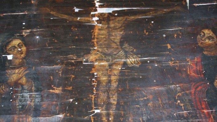 8 yüz yıllık tablo plazada ele geçirildi!