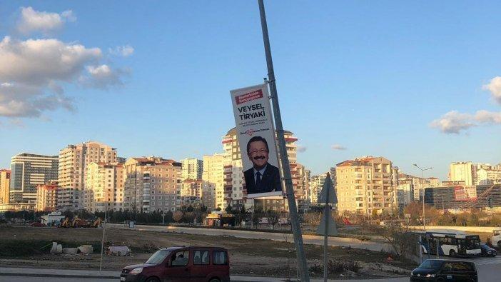 AKP'ye afiş uyarısı: 'Sorumlusu siz olursunuz'