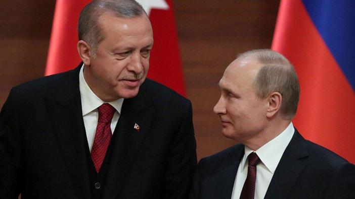 Erdoğan ve Putin'den 'Soçi Mutabakatı' görüşmesi