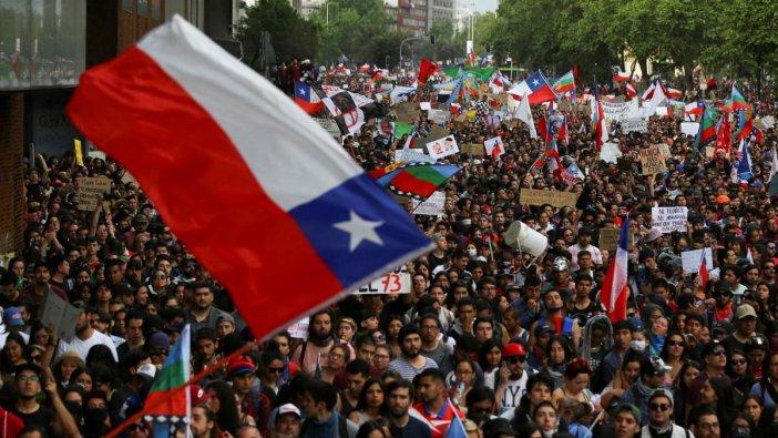 Şili Devlet Başkanı Pinera'dan 'istifa' açıklaması
