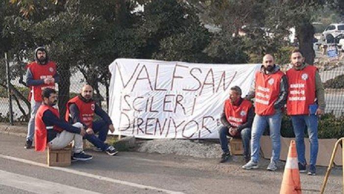 İşten çıkarılan Valfsan işçilerinden eylem: Dayanışmayla kazanacağız